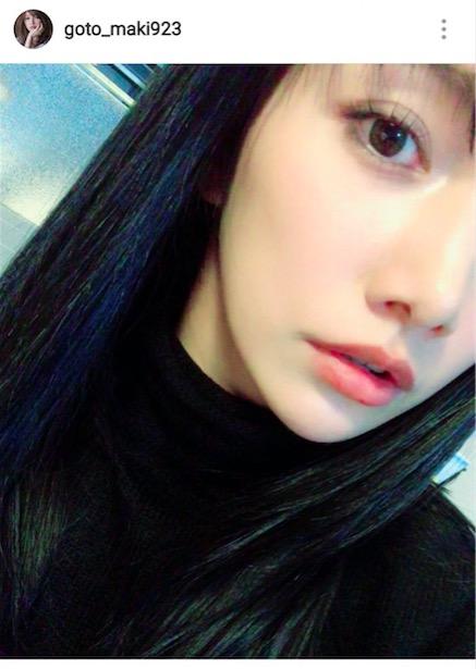 後藤真希、久しぶりの黒髪ロング姿公開で絶賛の声「可愛すぎます」「桐谷美玲ちゃんかと」サムネイル画像