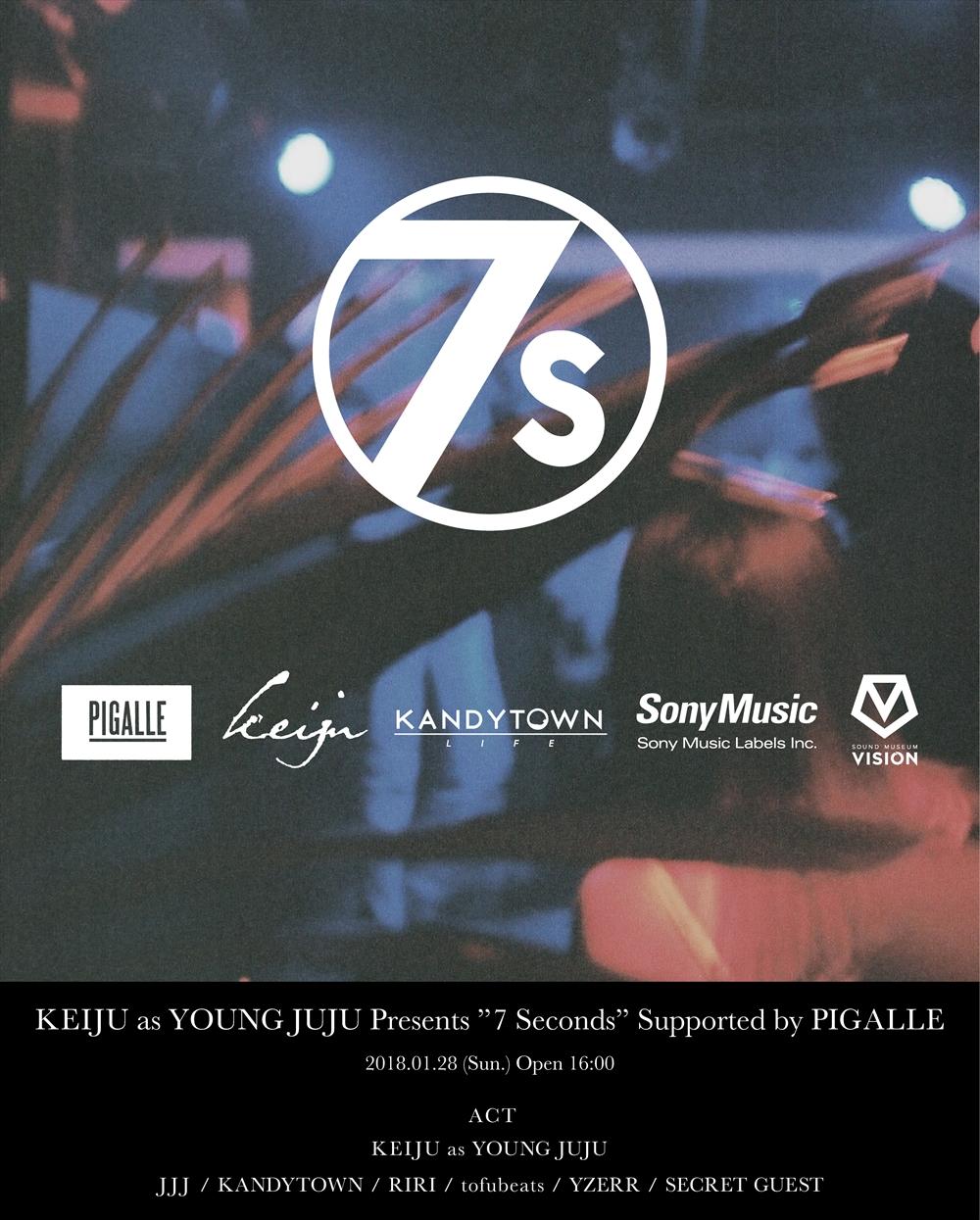 tofubeats、JJJ、YZERRら、KEIJU as YOUNG JUJUローンチパーティー追加出演者が発表サムネイル画像