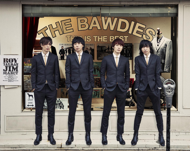 THE BAWDIES 結成15周年目・メジャーデビュー10周年目を記念したベストアルバムの発売が決定サムネイル画像!