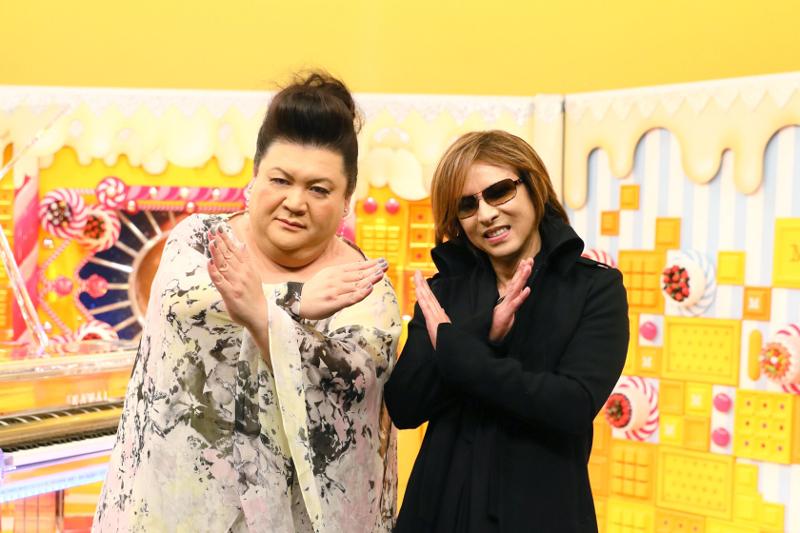 マツコ・デラックス(左)とYOSHIKI(右)が初共演!