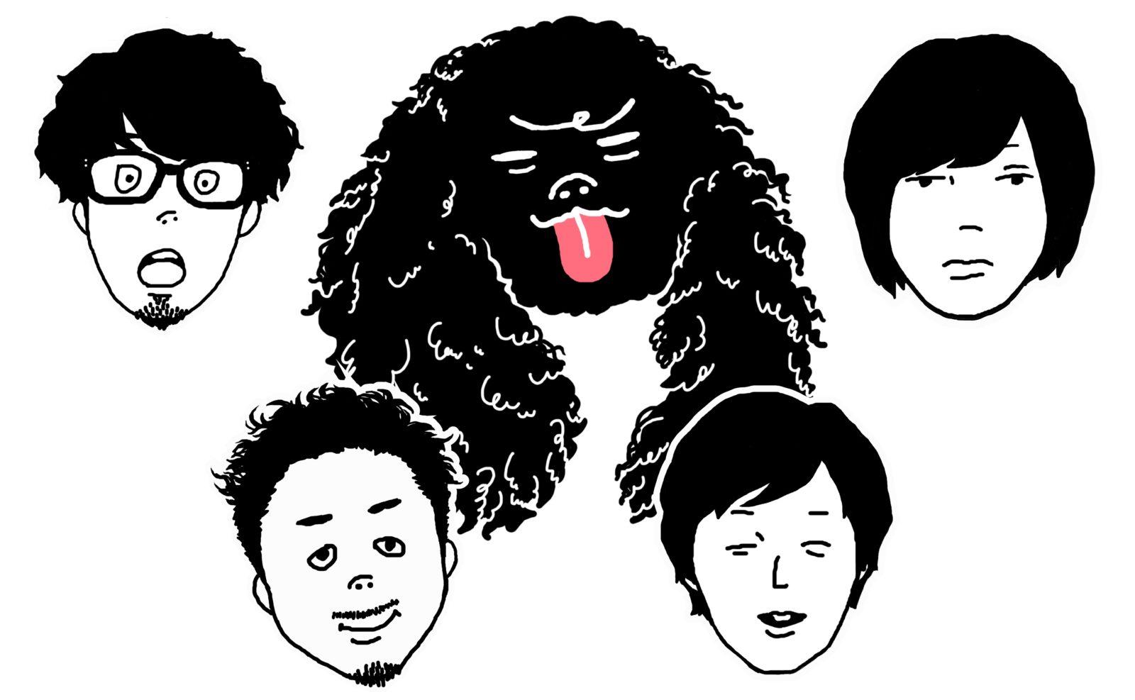 キュウソネコカミ ニューシングル「越えていけ」がアニメ「メジャーセカンド」のオープニングテーマに決定サムネイル画像