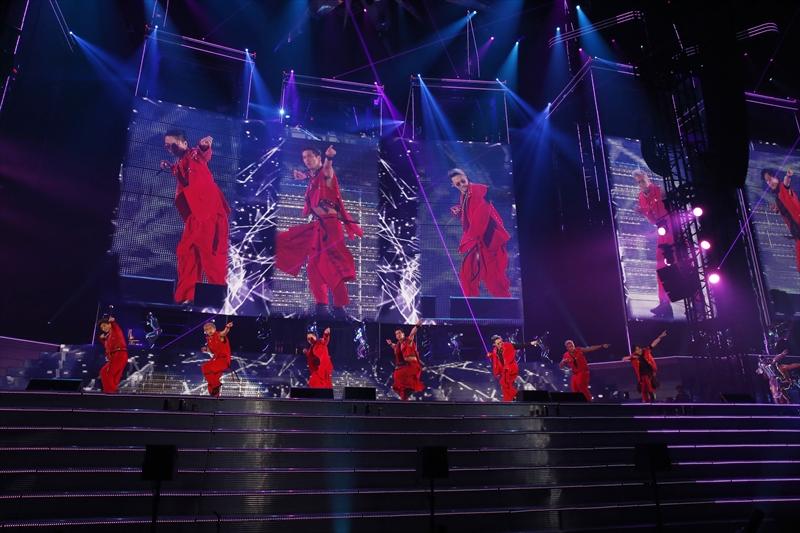 """史上最多観客動員数記録を樹立した 「三代目 J Soul Brothers LIVE TOUR 2017″UNKNOWN METROPOLIZ""""」配信決定サムネイル画像"""