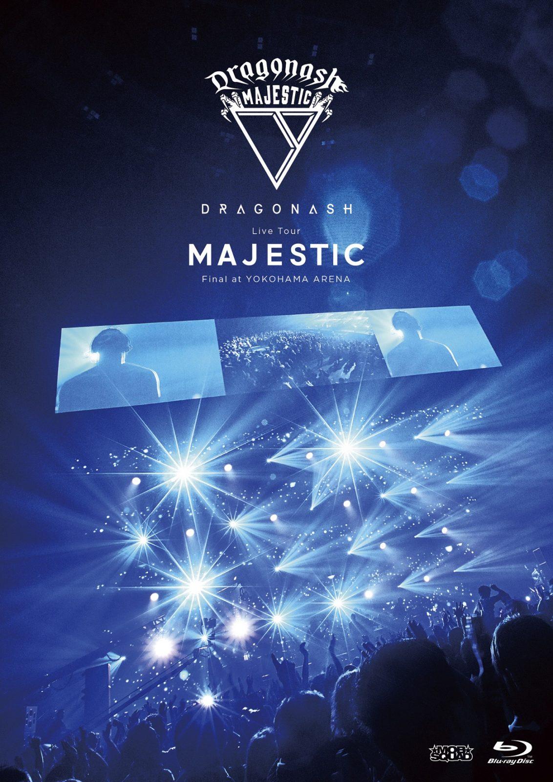 Dragon Ash 20周年イヤーファイナルを飾る映像作品「Live Tour MAJESTIC Final at YOKOHAMA ARENA」の全収録楽曲とジャケット写真を公開