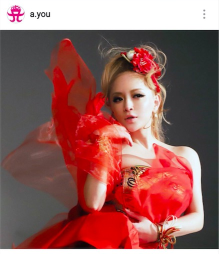 浜崎あゆみ、妖艶な赤ドレスの写真公開で「ゴージャスあゆ」「美し過ぎる」サムネイル画像