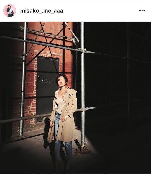 AAA・宇野実彩子 トレンチコート姿の写真公開に「外国人みたい!!」の声が続出サムネイル画像