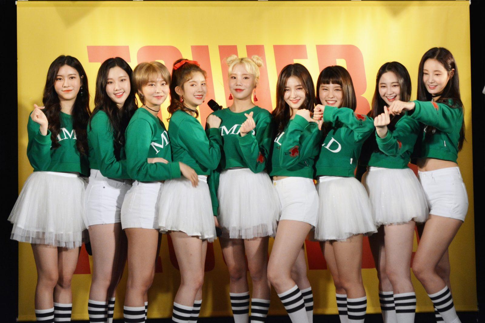 MOMOLANDが日本デビューを発表!韓国で大旋風の人気急上昇中のガールズグループが初の日本ショーケースライブを開催サムネイル画像