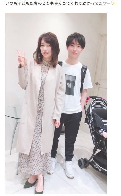 後藤真希、イケメン俳優の甥っ子と2ショット公開で「助かってます」サムネイル画像