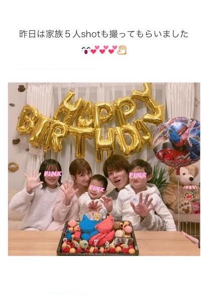 辻希美が夫・杉浦太陽と子供たちに囲まれた幸せ写真公開