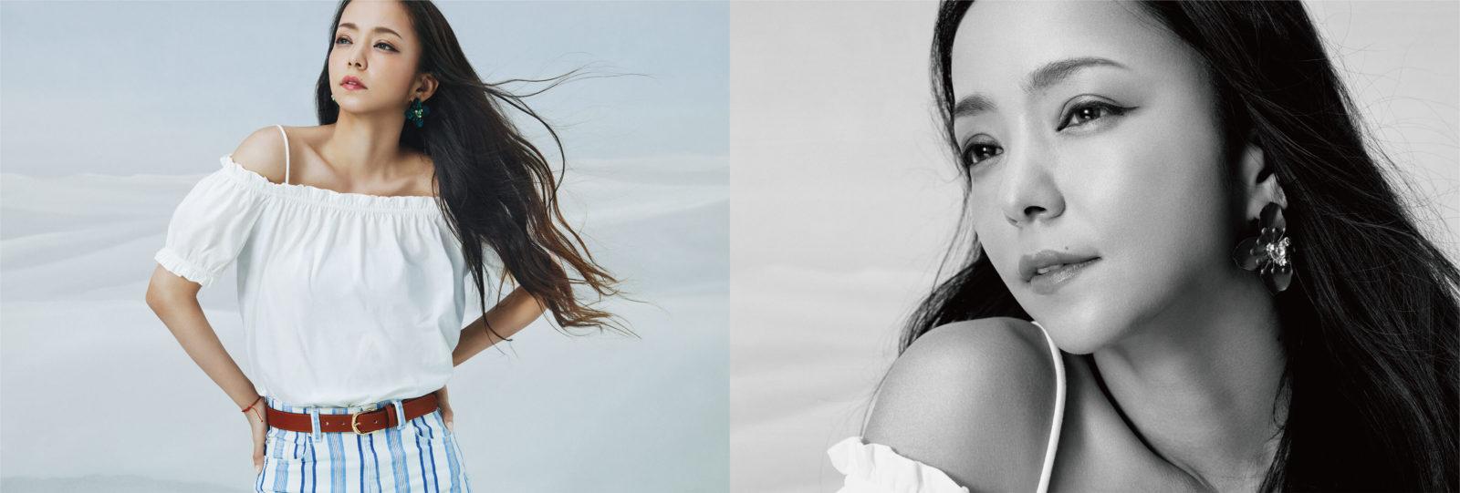 安室奈美恵xH&M アイテム着用ビジュアルと撮り下ろしポートレートが公開サムネイル画像
