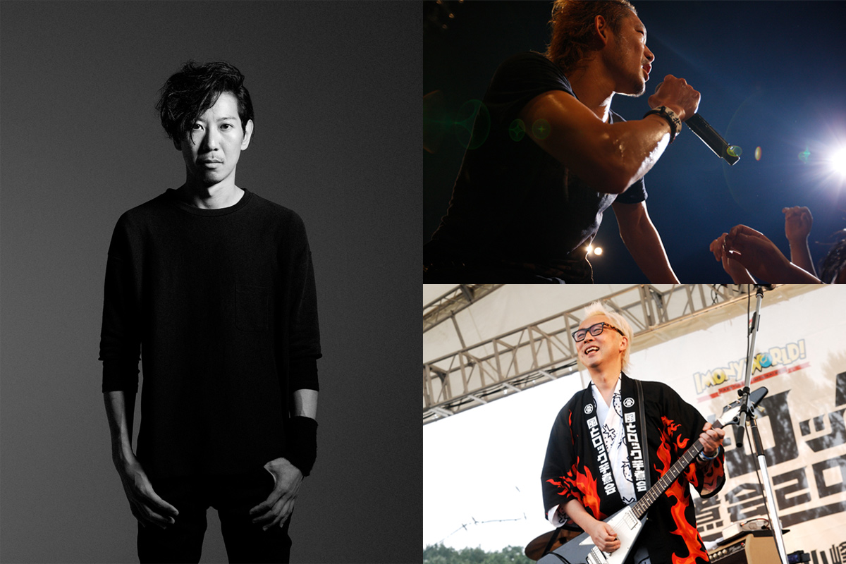 THE BACK HORN 松田晋二のラジオ番組公開収録イベントにTOSHI-LOW(BRAHMAN)、箭内道彦がゲスト出演サムネイル画像