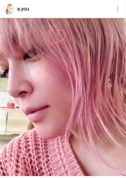 春全開!浜崎あゆみ、ピンク色の髪色公開で「めちゃ似合ってますやん」「可愛すぎるよ」サムネイル画像