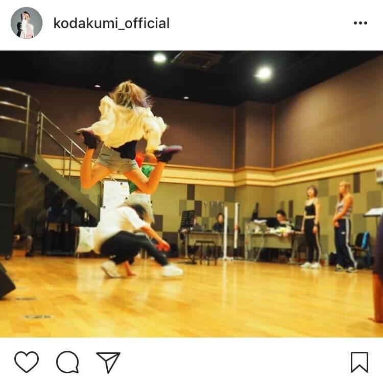 「合成?」倖田來未がリハーサルで見せたすごすぎる跳躍力が話題にサムネイル画像