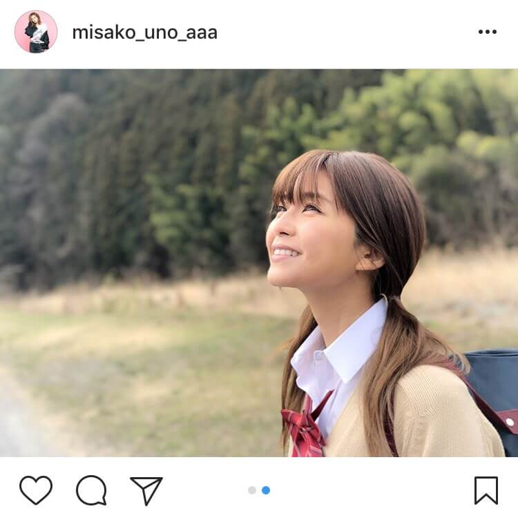 AAA宇野実彩子、ツインテールJK姿披露に「違和感なさすぎ」の声サムネイル画像
