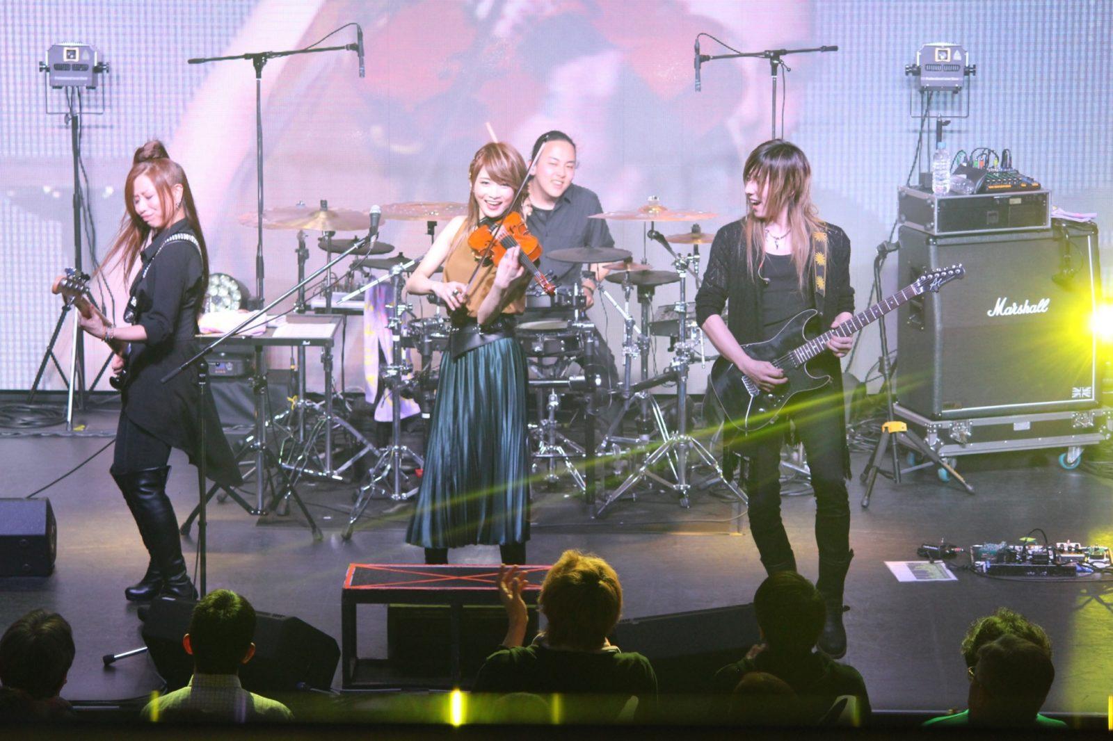 ロックヴァイオリニストAyasa、GWにツアーも含め13公演を開催サムネイル画像