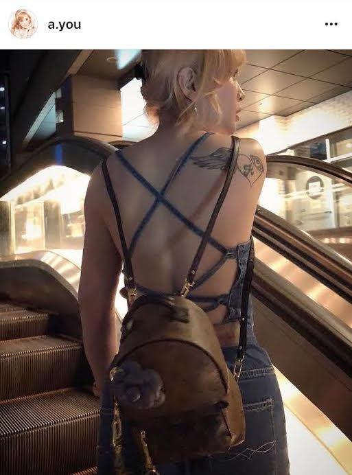 「これぞayuって感じ」浜崎あゆみ タトゥー見える大胆ファッションに反響サムネイル画像
