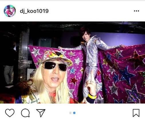 "DAIGOの""ド派手すぎる""誕生日会衣装の写真をDJ KOOが公開サムネイル画像"