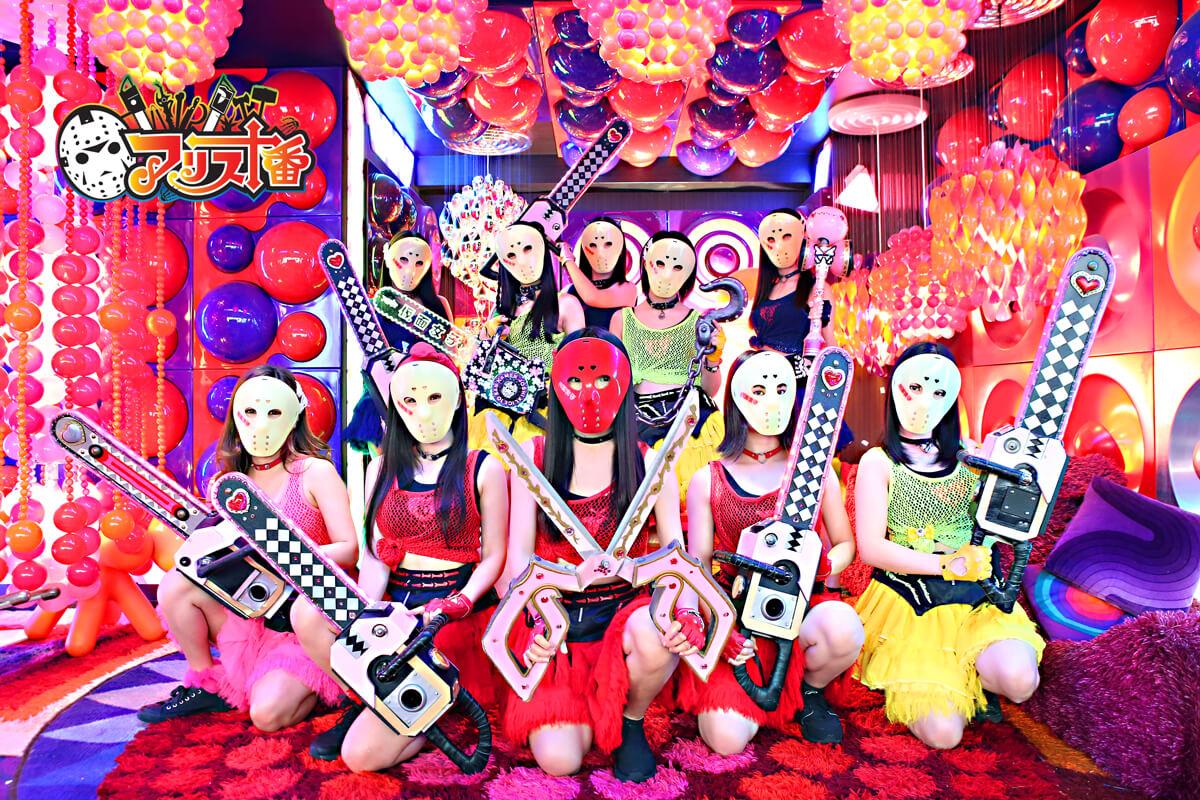"""「全員仮面を被って武器を持ってます、アイドルなのに」仮面女子・桜のどかが""""気合い""""を語るサムネイル画像"""