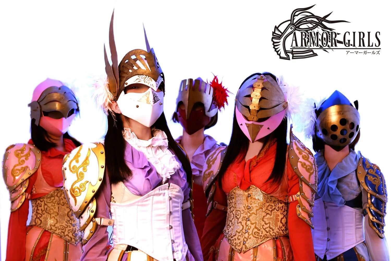 """「全員仮面を被って武器を持ってます、アイドルなのに」仮面女子・桜のどかが""""気合い""""を語る画像58488"""