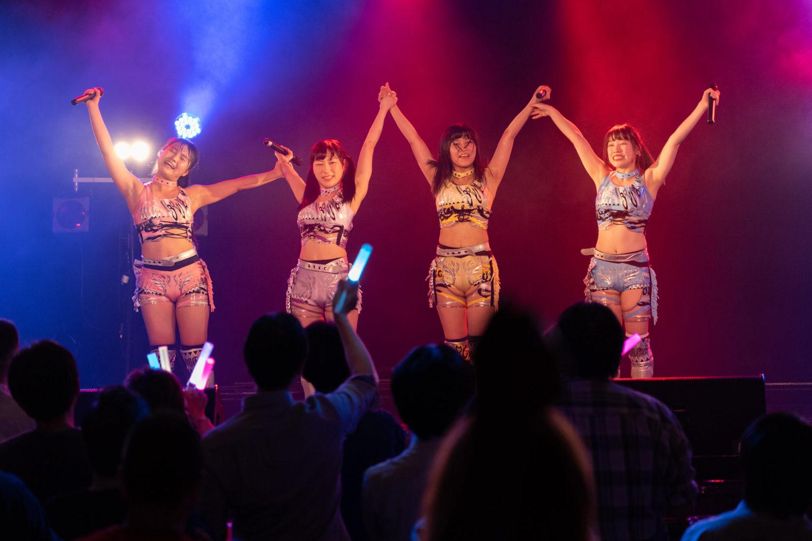 歌って踊って闘える最強のアイドル目指すアップアップガールズ(プロレス)「後楽園ホールで、ライブも試合もしたい!」サムネイル画像