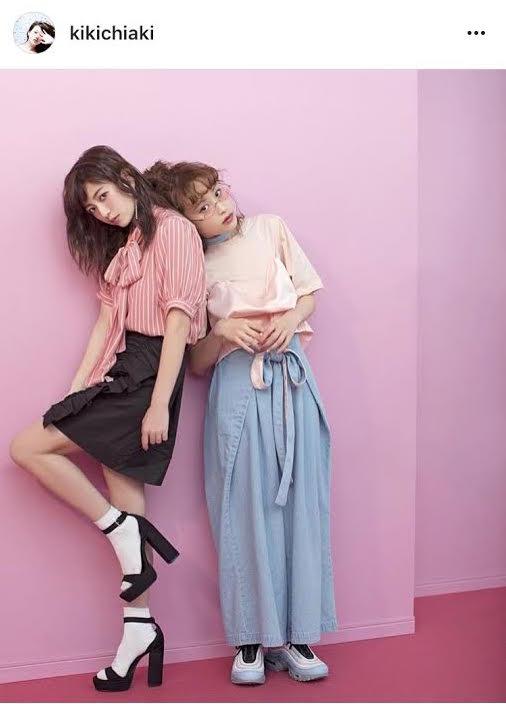 元AAA伊藤千晃 高橋愛との全身2ショット公開に「スタイルよすぎ」サムネイル画像