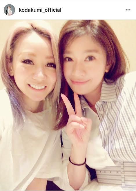 倖田來未 篠原涼子と仲良し2ショットに「最強過ぎ」とファン歓喜サムネイル画像