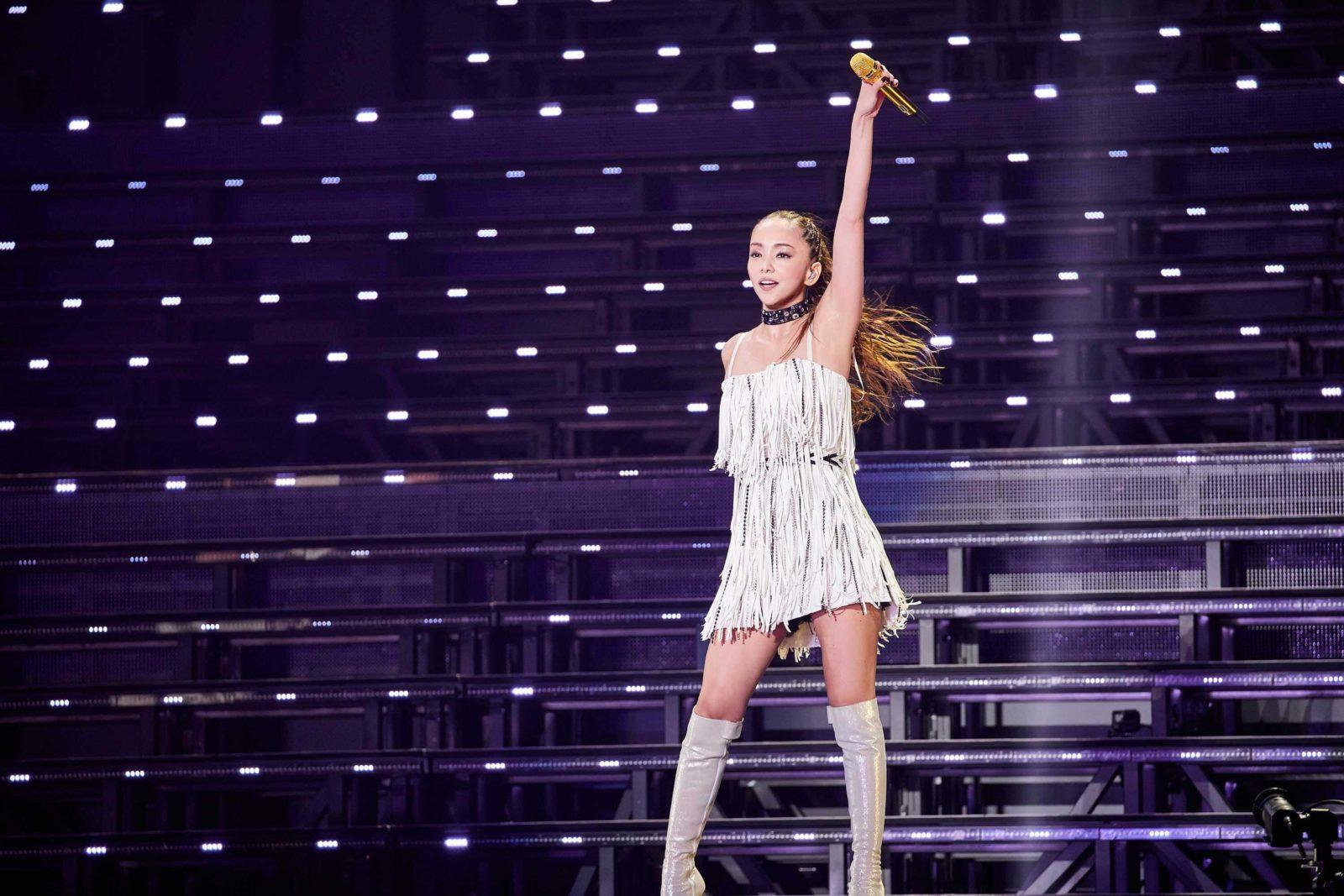 安室奈美恵 最後の全国ツアーが幕「みんな元気でねー!」サムネイル画像