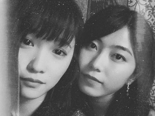 川栄李奈、AKB48横山由依とのアップ写真投稿