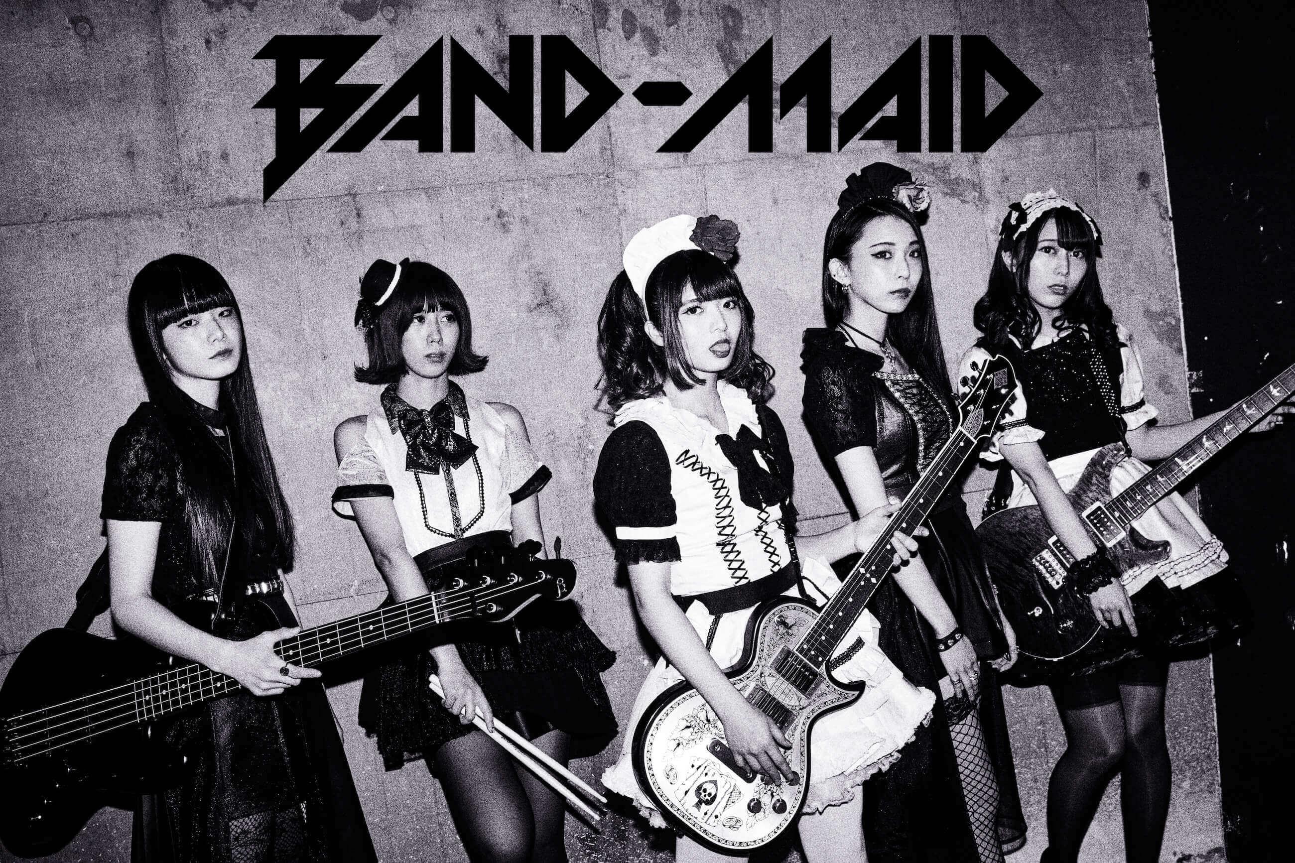 BAND-MAID 3rdシングル「start over」のアートワーク公開