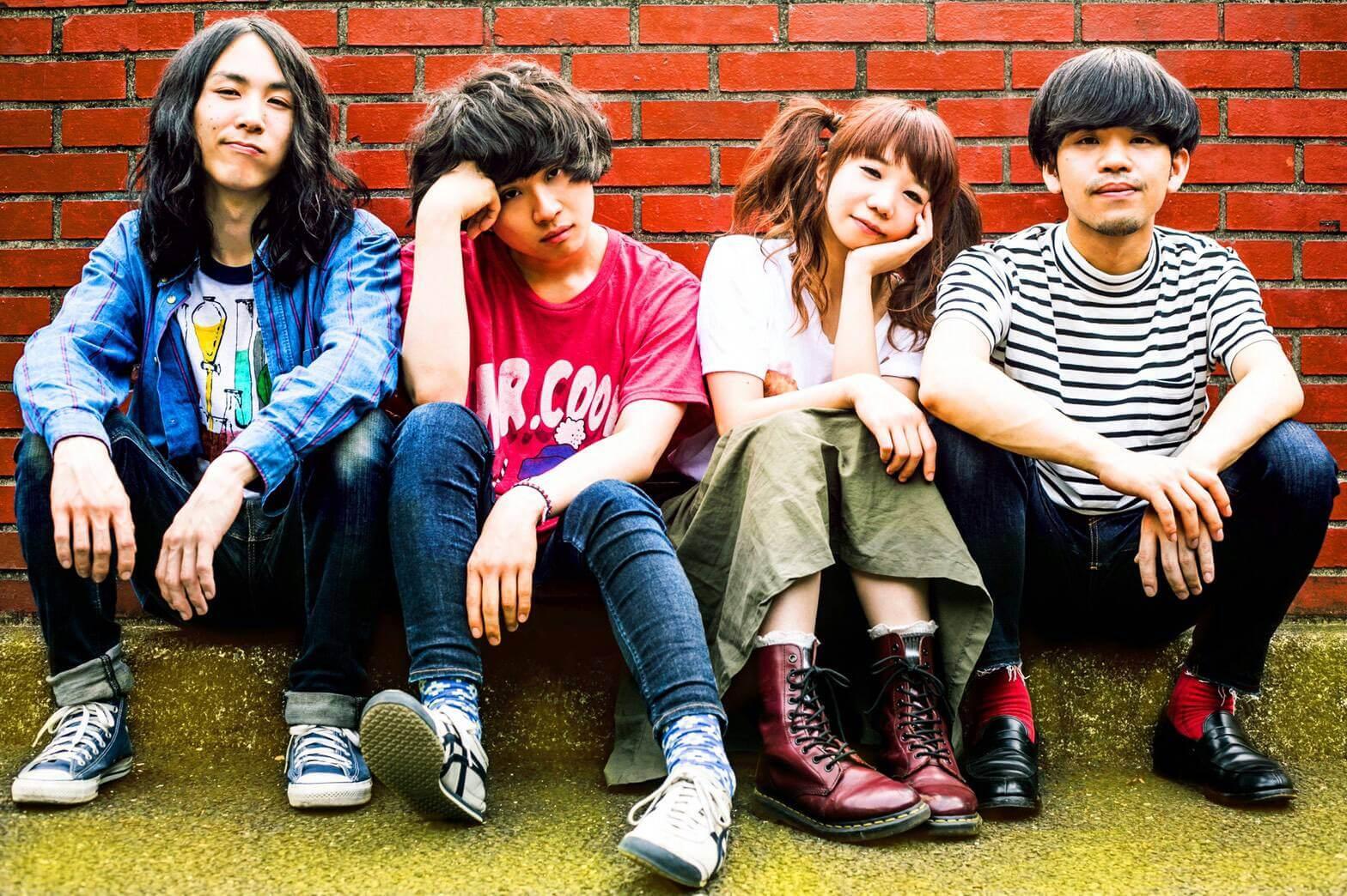 宮崎在住4人組ロックバンド ベランパレードがライブで人気の新曲「風邪のビリア」の配信開始を発表サムネイル画像