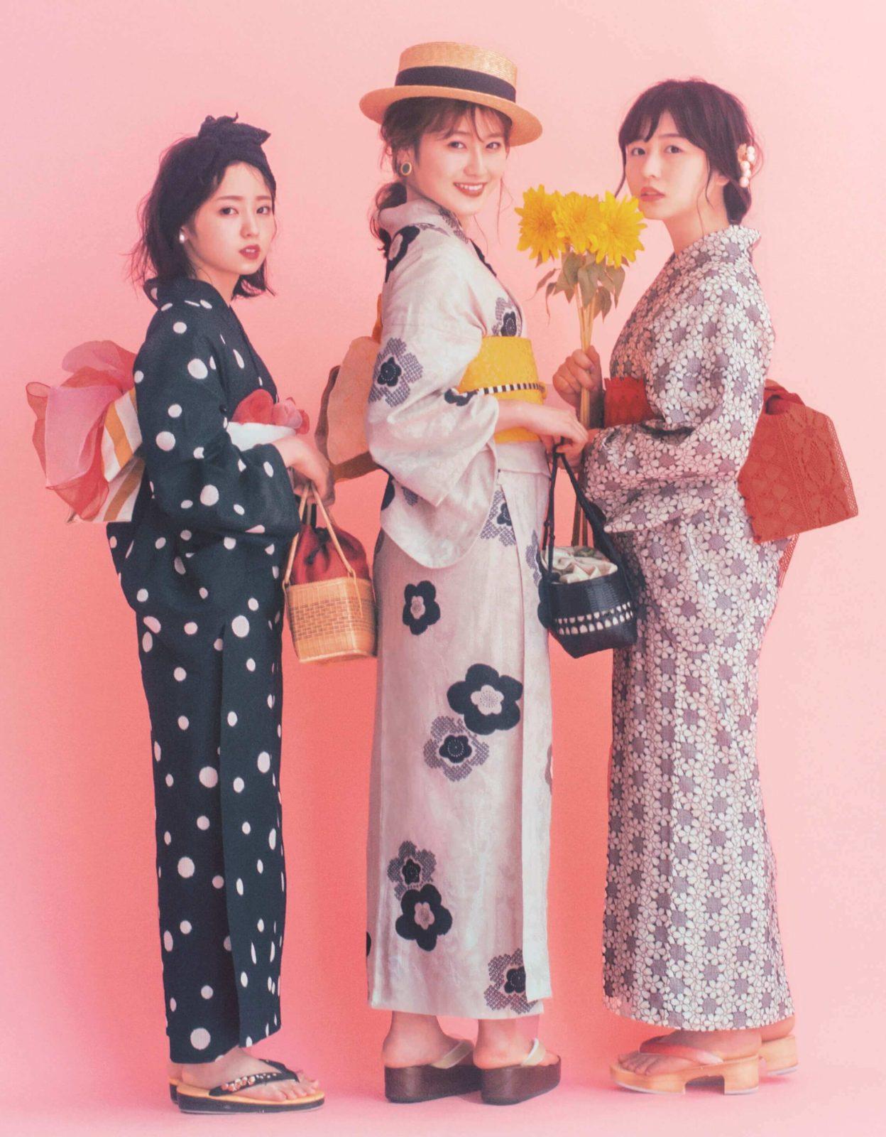欅坂46・今泉佑唯、長濱ねる、守屋茜が浴衣姿で登場!理想のデートも明かすサムネイル画像