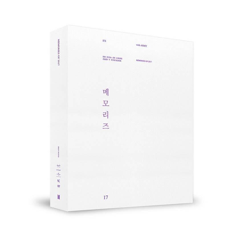 BTS (防弾少年団)の2017年が全て詰まった5枚組545分DVD発売決定サムネイル画像!