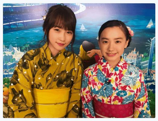 川栄李奈、14歳の芦田愛菜と浴衣ショット披露「美人姉妹みたい」サムネイル画像