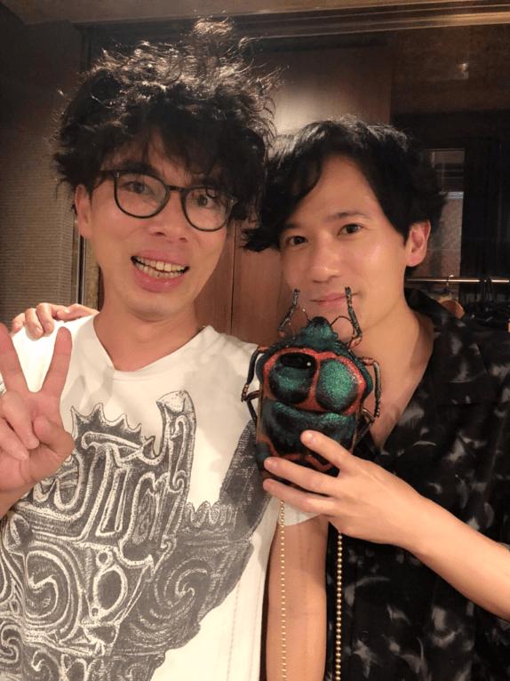 稲垣吾郎「この人が大好きだ」片桐仁との2ショットにファン歓喜の声「いいツーショット」サムネイル画像