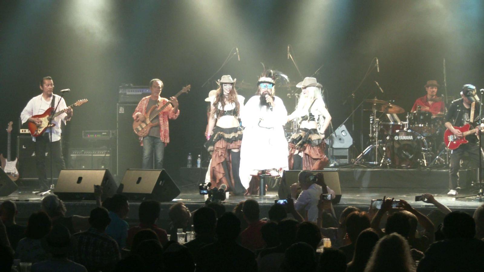"""沖縄のロックレジェンド・コンディショングリーンのボーカリスト率いる""""かっちゃんバンド""""が「Pepeaceful Love Rock Festival 2018」に出演"""
