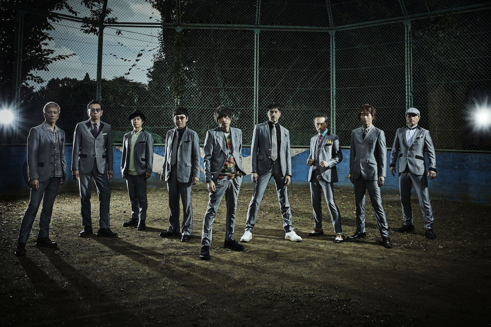 スカパラ、最新アーティスト写真を解禁&銀杏BOYZ 峯田和伸とのコラボ楽曲がアナログ化サムネイル画像