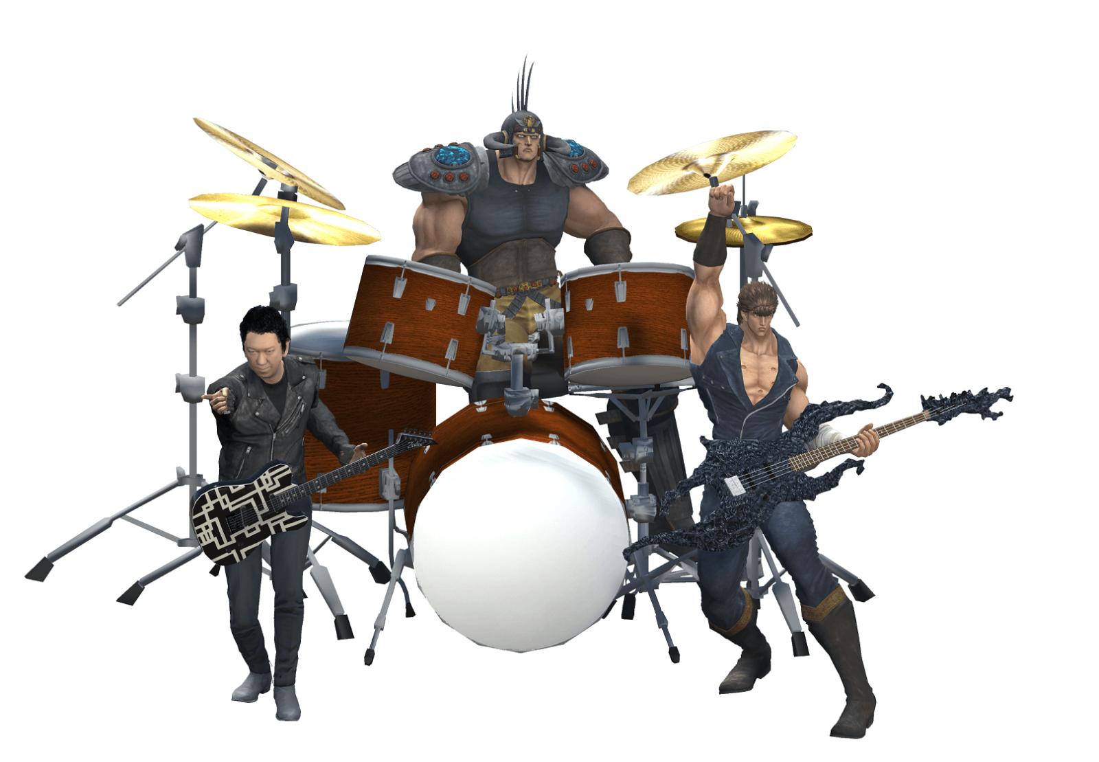 布袋寅泰「北斗の拳」ケンシロウ・ラオウとバンドを結成サムネイル画像
