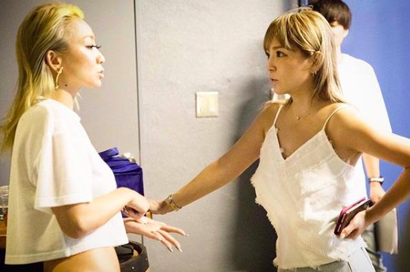浜崎あゆみ、倖田來未と遭遇2ショットにファン歓喜「レアすぎる」サムネイル画像