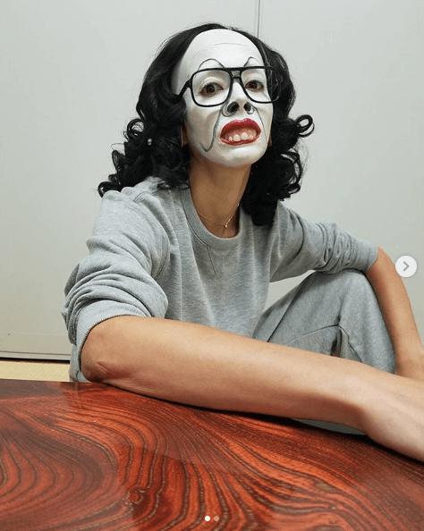 土屋アンナ、くっきー作柴田理恵の白塗りモノマネ公開に「びびったぁ」の声サムネイル画像