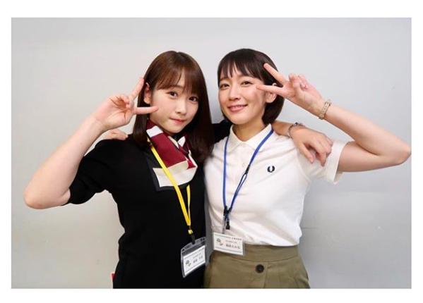 川栄李奈&吉岡里帆、肩組み仲良し2ショットに「りほりな最高」サムネイル画像!