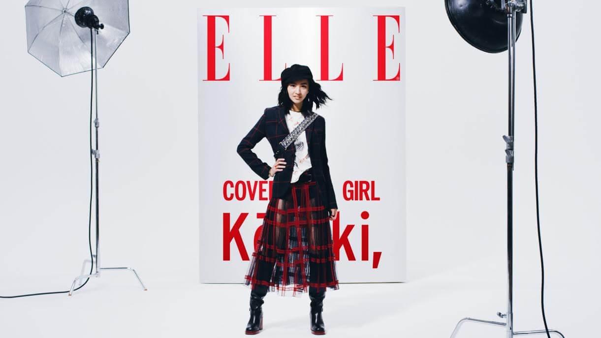 注目モデル・Koki,が再び『ELLE』とコラボし全国の街頭ビジョンをジャック