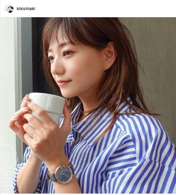 伊藤千晃、ナチュラルな表情の横顔写真公開し「かわいすぎ!」「見とれてしまう」サムネイル画像