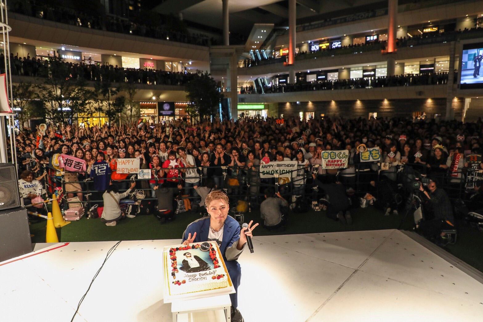 EXILE SHOKICHI、自身の誕生日に開催したリリースイベントでファンにソロツアーを宣言サムネイル画像