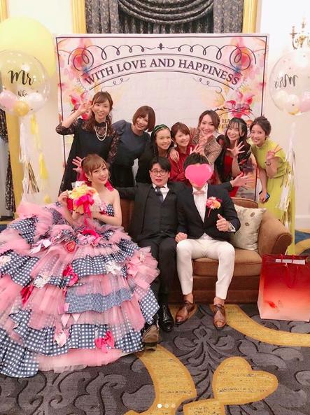 矢口真里・手島優・misonoら出席した菊地亜美の結婚披露宴の写真公開