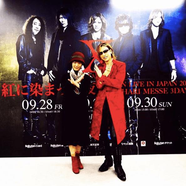 YOSHIKI、高畑充希と「紅コンビ」ショットにファン歓喜「ついにご対面」サムネイル画像