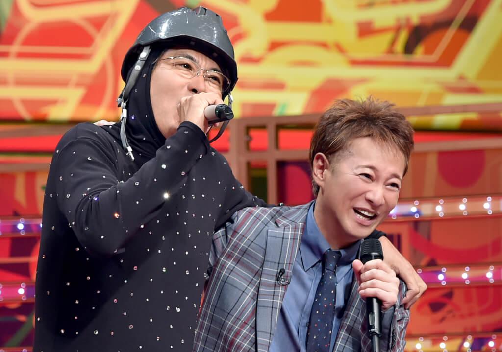 『うたばん』コンビ復活!石橋貴明と中居正広が『UTAGE!』のステージで共演サムネイル画像