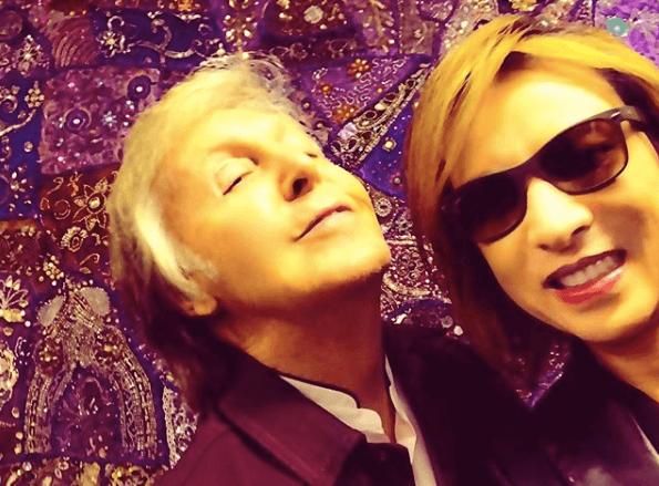 YOSHIKI、ポール・マッカートニーとの自撮り写真にファン驚き「スゲエ」サムネイル画像