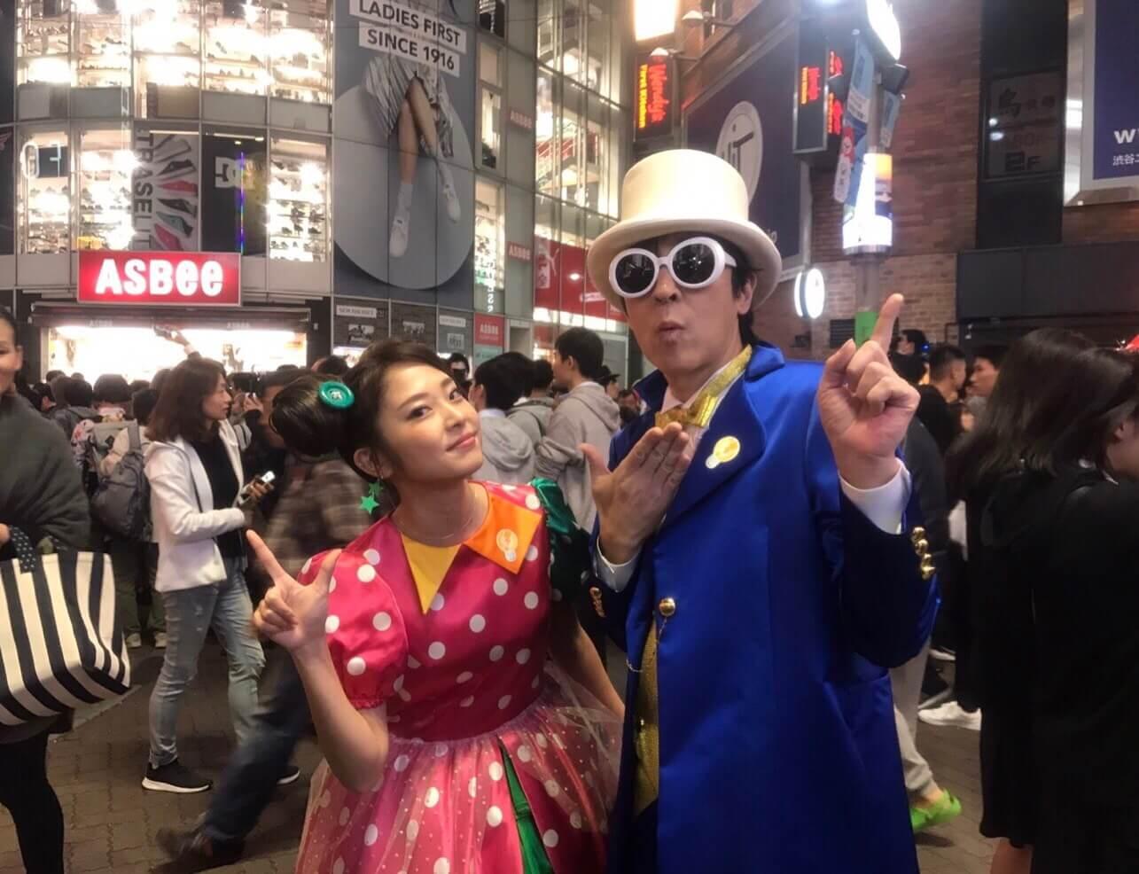 ELT伊藤一朗、ハロウィーンコスプレで渋谷に現るも気づかれずサムネイル画像