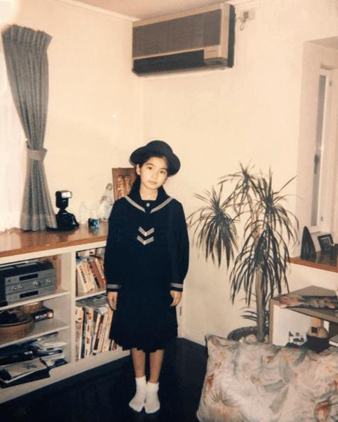 AAA宇野実彩子、上品な学生時代の制服ショットに反響
