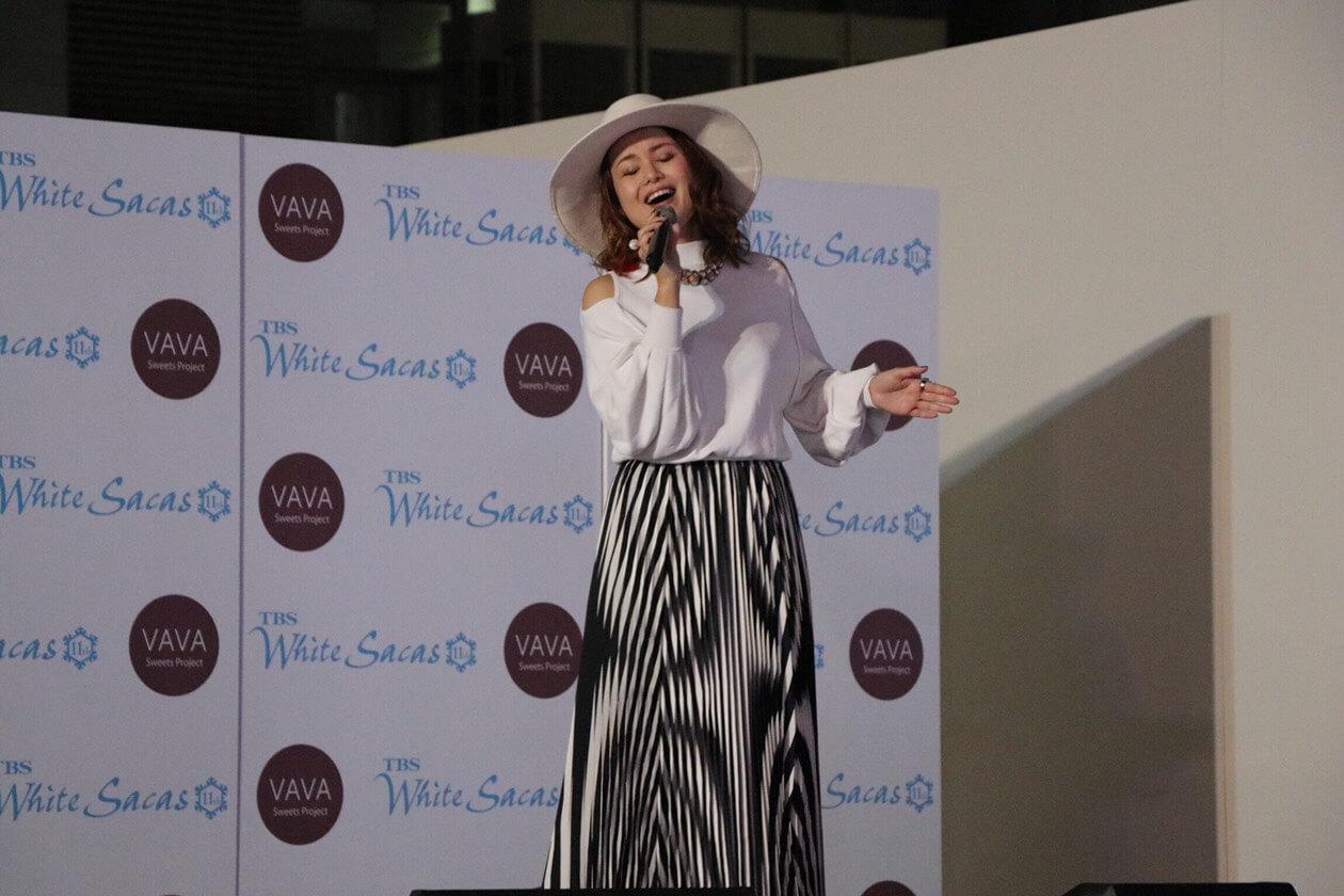 TABARU「TBS White Sacas 11th」テーマソング「Beautiful World」を披露サムネイル画像