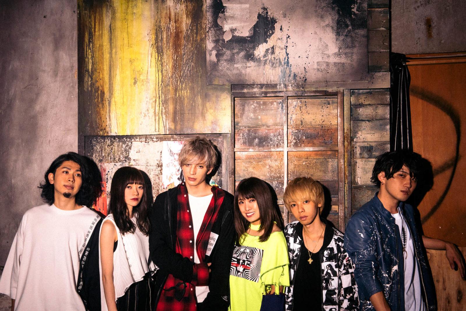 6人組ハイブリッド・ロック・バンドAliAがデビュー・ミニアルバム『AliVe』をリリース!さらに全国ライブハウスツアー開催決定サムネイル画像